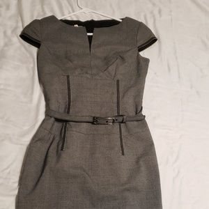 Grey Dress from Anne Klein
